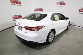 new 2018 toyota camry le 4dr car in escondido 1015608 toyota