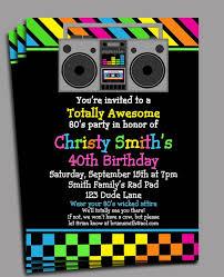 best 25 1980s party invitations ideas on pinterest 1980s theme