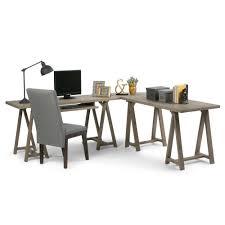 Diy Sawhorse Desk by Simpli Home Sawhorse Medium Saddle Brown Desk 3axcsaw 10 The