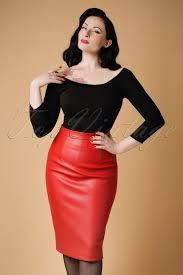 pencil skirt 50s naeemah pencil skirt in bright