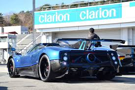 blue pagani zonda pagani zonda kiryu specs technical data 27 pictures and 2 videos