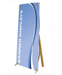 Bamboo Table Top by Mini Bamboo X Table Top Banner Stand Trade Show Display