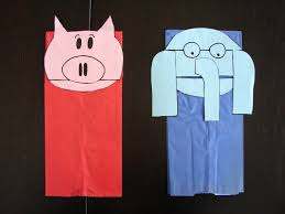 elephant and piggie puppets thrive after three