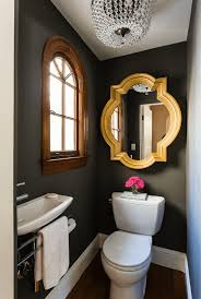Pretty Powder Rooms Pretty Powder Room Hand Painted Door Gold Design Federto Home