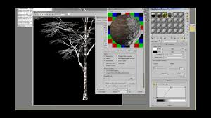tutorial snow material snow shading snow covered trees
