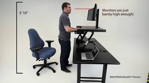 top z lift standing desk converters review youtube