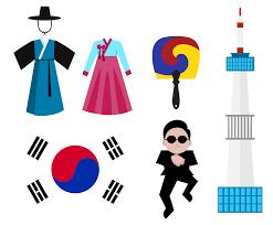 Korea Flag Icon Free South Korea Iconic Vector Vector Art U0026 Graphics Freevector Com