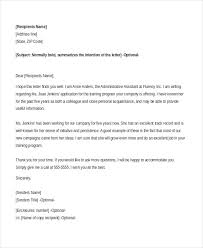 letter of recommendation administrative assistant docoments