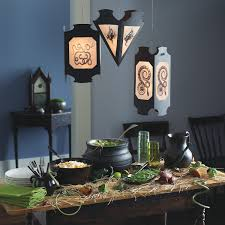 hanging snake and frog vellum lanterns martha stewart