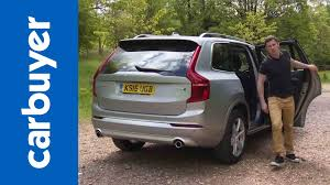 new volvo new volvo xc90 suv 2015 review carbuyer youtube