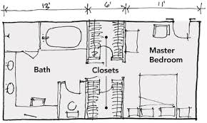 master bedroom bathroom floor plans six bathroom design tips homebuilding