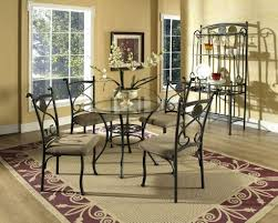 Wrought Iron Dining Table And Chairs Dining Chairs Wrought Ironwood Dining Room Chairs Wrought Iron