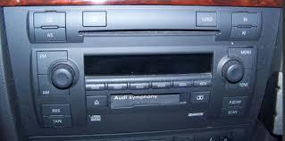audi a4 2004 radio audi navigation radio cd changer repair