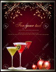 christmas cocktail party christmas background royalty free cliparts vectors and stock