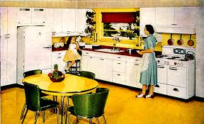 1940s kitchen light fixtures home life in the 20th century the museum of yesterday