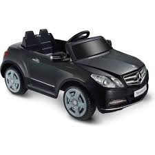 mercedes black car kid motorz one seater mercedes e550 6 volt battery operated