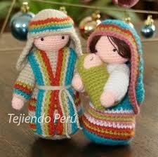 bufandas mis tejidos tejer en navidad manualidades navidenas bufanda san josé tejido a crochet amigurumi tejiendo para navidad