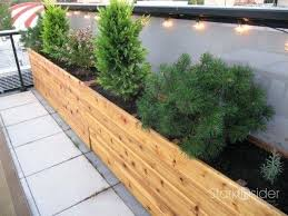 Backyard Planter Box Ideas by Large Planter Boxes For Bamboo Large Garden Planter Box Plans