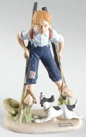 danbury mint norman rockwell figurines at replacements ltd