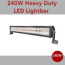 led security light bar 240w off road 4x4 led spot work light bar cctv direct