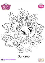 sundrop princesss coloring page free printable coloring pages