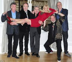 monty python reunion to appear live at o2 arena show daily mail
