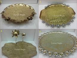 metal platters designer metal platters manufacturer from delhi