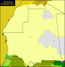 Western Africa Map by Languages In Mauritania And Western Sahara Maps Of Africa