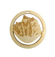 wolf pack ornament wolf pack ornament wolf pack