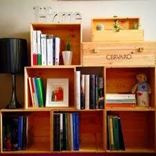 cassette vino lorendesign la nuova libreria con le cassette della frutta