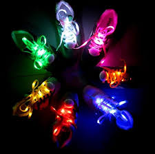 rainbow light up shoes actopp 1 pair led shoelaces high visibility soft nylon light up