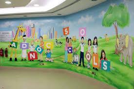 mural for school wall murals you ll love school mural created by kansas city art insute