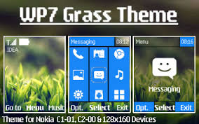microsoft themes for nokia c2 01 download wp7 grass hd symbian series 40 5th edition 240x320 themes