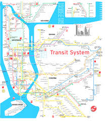 Manhatten Subway Map by Terramaps Nyc Manhattan Street And Subway Map Throughout Of