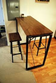 high rise kitchen table the 21 best images about deco on pinterest industrial bars high