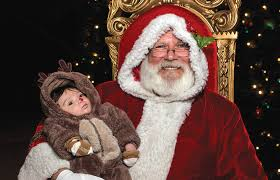 best places to take pictures with santa in las vegas
