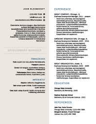 formal resume template modern resume templates 64 exles free