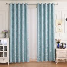 teal and white curtains home design ideas and pictures