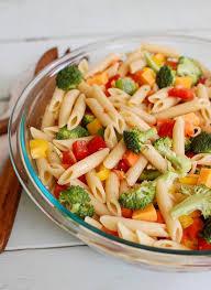 noodle salad recipes classic pasta salad a cedar spoon