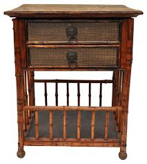 bedroom nightstand herefoss bedside table oak shaker style