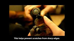 how to dremel a dog u0027s nails youtube