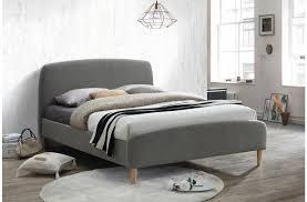 grey upholstered bed frame uk frame decorations