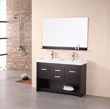 65 inch white double vanity vanity decoration