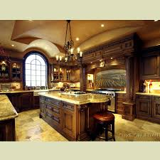 luxury kitchen island interior chandelier with central kitchen island and tile flooring