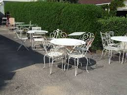Iron Wrought Patio Furniture by Best Wrought Iron Patio Chairs U2014 All Home Design Ideas