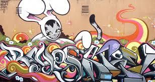 san diego street art graffiti beach magazine bunny kitty
