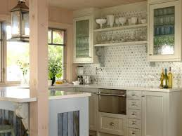 White Kitchen Cabinets With Glass Doors Kitchen Design Ideas Using Yellow Kitchen Wall Paint Including