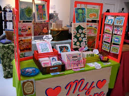 my booth at the handmade cavalcade display craft fairs