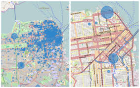 San Francisco Traffic Map by A Model To Infer Uber Rider Destinations Uber News