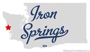 springs washington map map of iron springs wa washington